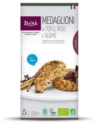 Medaglioni di Tofu Riso e Alghe - Piatto vegano gustoso