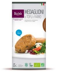 Medaglioni di Tofu e Farro - Alimento per dieta Vegana a base di Tofu e Cereali biologici