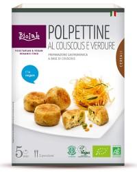 Polpettine al CousCous e verdure - alimento vegano - Biolab