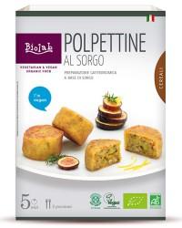 Polpettine al sorgo - A base di tofu, sorgo bianco decorticato e verdure