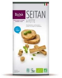 Seitan a fette - Si presta alla preparazione di numerosi piatti vegetariani gustosi.
