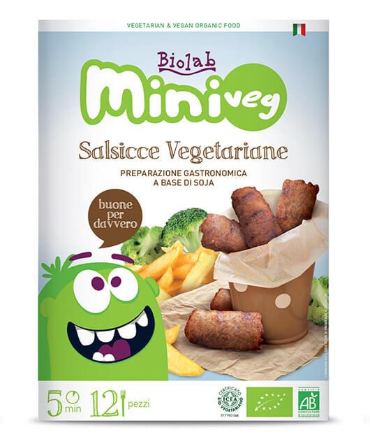 Salsicce vegetariane di Soja
